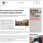 La Santa Market en Diari de Girona