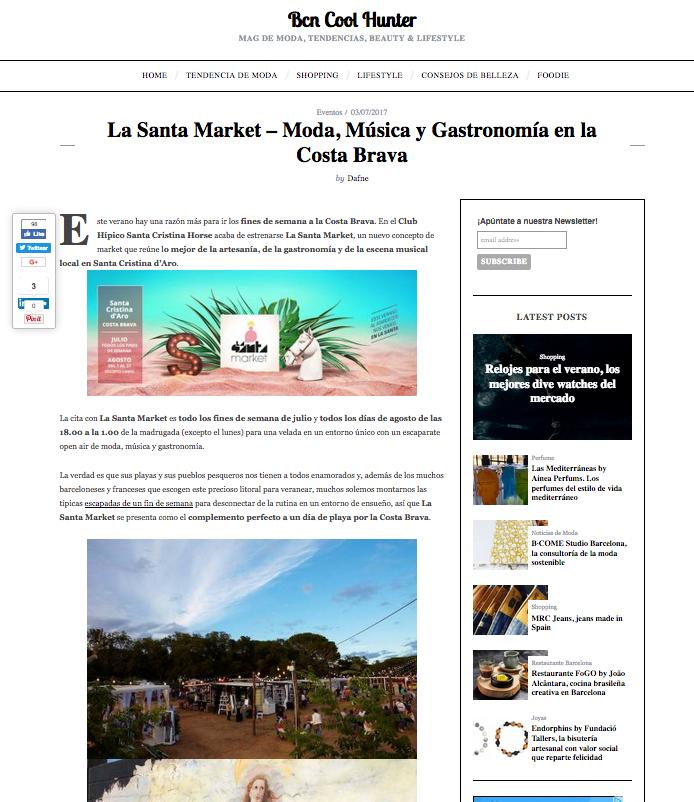 La Santa Market - Bcn Cool Hunter