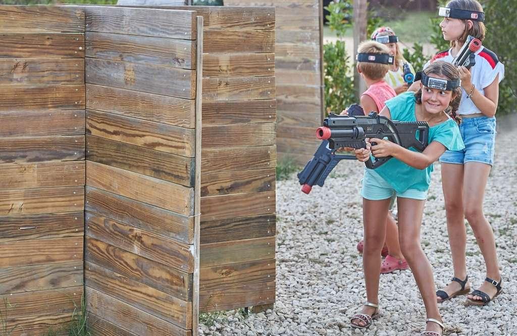 laser combat niños la santa actividad