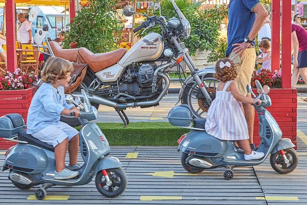 Circuito Motos eléctricas La Santa