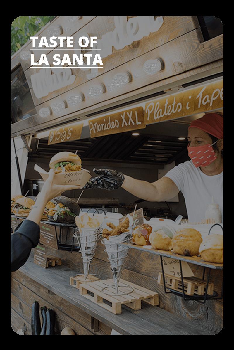 La oferta gastronómica de La Santa