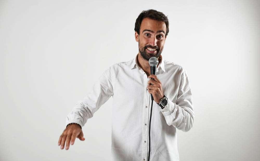 Borja Nicolau -Monologuista en La Santa