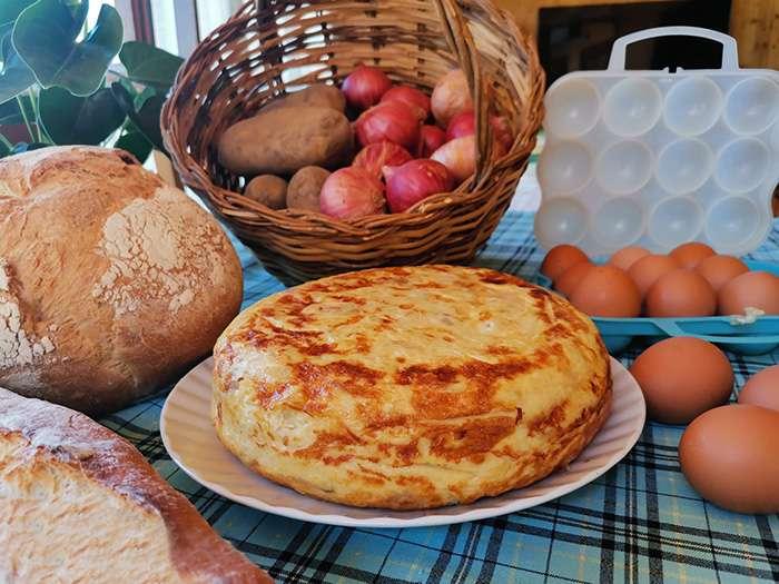 tortilla de patata pan
